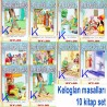 Keloğlan Hikayeleri - büyük boy, renkli, resimli, 10 kitap set - Ebru Kantaş - Atlas