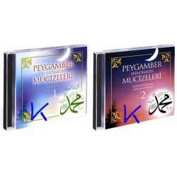 Peygamber Efendimizin Mucizeleri 1+2 CD set - Hayri Küçükdeniz, Seyfullah Kartal - CD