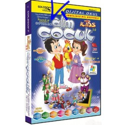 Alim Çocuk 2.0, Alim Kids 2.0 - CD ROM, interaktif CD
