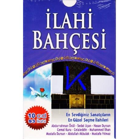 Ilahi Bahçesi 10 CD, 93 ilahi CD seti - Abdurrahman Önül, Sedat Uçan, Hasan Dursun, Cemal Kuru, Celaleddin,...