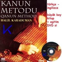 Kanun Metodu - Qanun Method + DVD - Halil Karaduman