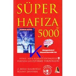 Süper Hafıza 5000 - Hafıza geliştirme teknikleri - kırmızı kitap - Zeynep Müge Kasaroğlu, Bülent Şenyürek