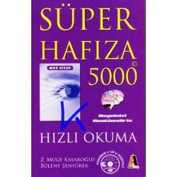 Süper Hafıza 5000 - Hızlı Okuma - mor kitap - Zeynep Müge Kasaroğlu, Bülent Şenyürek