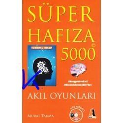 Süper Hafıza 5000 - Akıl Oyunları - turuncu kitap - Murat Takma