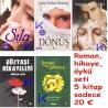 Roman, hikaye, öykü seti - 5 kitap: Sıla, Ihanetin Bedeli, Dönüş, Sen Ağlama Sevdam, Gözyaşı Hikayeleri, Bostan ve Gülistan