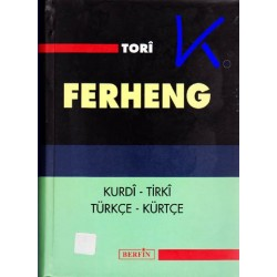 Kurdi - Tirki, Türkçe - Kürtçe sözlük - Ferheng - Tori