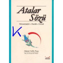 Atalar Sözü - Ahmet Vefik Paşa