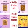 4 Halife, 4 kitap set: Hz Ebubekir, Hz Ömer, Hz Ali, Hz Osman (ra) - KAMPANYALI