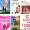 Kadın, Aile, Mutluluk seti - 5 kitap kampanya
