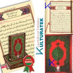 Kur'an-ı Kerim, bilgisayar hatlı, diyanet mühürlü - rahle boy - Kur'an Dünyası