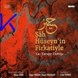 """Şah Hüseyn'in Firkatiyle, """"Yas Yaraşır Dervişe..."""" - kitap + CD - Ender Doğan, Veysel Dalsaldı"""