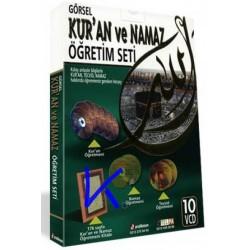 Kur'an ve Namaz Öğretim Seti, görsel - 10 VCD + Kitap
