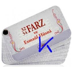32 - 54 Farz ve Esmaül Hüsna - Kartela - Şifa