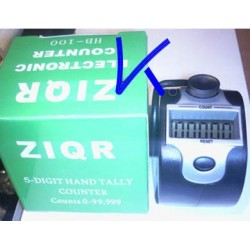Zikir matik Digital - 5 digit hand tally electronic counter, tesbih - zikirmatik