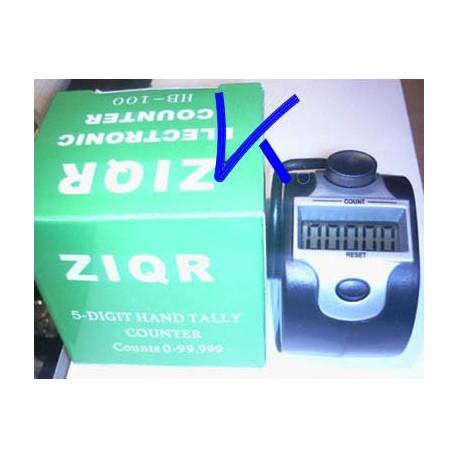 Zikir matik Digital - 5 digit hand tally electronic counter, tesbih - zikirmatik