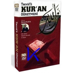 Tecvidli Kur'an Öğretmeni - Davut Kaya - 10 VCD set