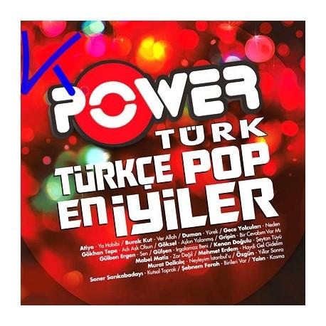Power Türk Türkçe Pop - En Iyiler - CD