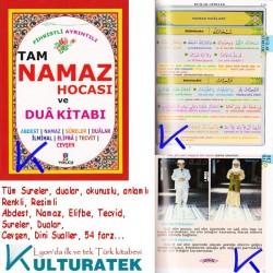 Tam Namaz Hocası ve Dua Kitabı - fihristli, ayrıntılı - Hacı Yusuf Ahmet Mirza