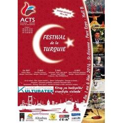 1-2-3-4 mayıs 2014, St Etienne'de, Festival de la Turquie de kitap ve hediyeliklerle sizlerleyiz