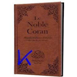 Coran, et traduction en français (Le Noble Coran), grand format - Fransızca mealli Kuran, büyük boy