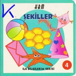 Şekiller - Ilk Bilgilerim Serisi 4 - Sert karton kitap