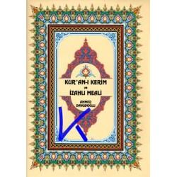 Kur'an-ı Kerîm ve Izahlı Meali (hafız boy) - Ahmed Davudoğlu