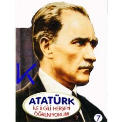 Atatürk ile Ilgili Herşeyi Öğreniyorum - Sert karton sayfa kitap - Hobi