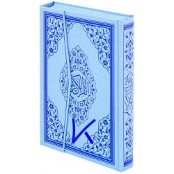 Kur'an-ı Kerim - mavi renk - bilgisayar hatlı Kuran - orta boy - 4 renk - ayfa