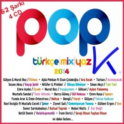 Pop Türkçe Mix Yaz 2014 - 62 Şarkı, 4 CD set