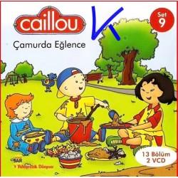 Caillou Çamurda Eğlence - Caillou 9 - 13 bölüm, 2 VCD - çizgi film