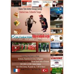 30.11.14 pazar günü Chalon da (71100) Şenlik'te kitap ve hediyelik sergimizle sizlerleyiz