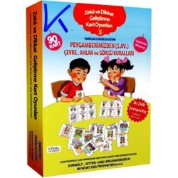 Zeka ve Dikkat Geliştirme Kart Oyunları - Hadislerle Değerler Eğitimi