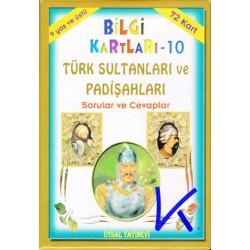 Bilgi Kartları - Türk Sultanları ve Padişahları - Sorular ve Cevaplar - Uysal