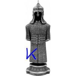 Biblo Zırhlı Cevşen - gümüş renk