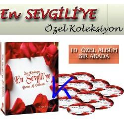 En Sevgili'ye Özel Koleksiyon Set - Dursun Ali Erzincanlı - 7 CD + 3 VCD