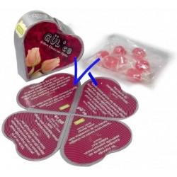 Gül'ce - Güllerin Efendisinden Öğütler - Gül aromalı şeker hediyeli magnetli Hadis kartları