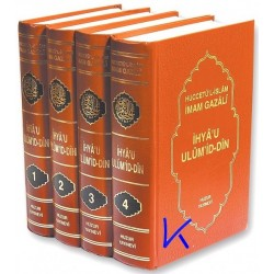 Ihya u Ulumid Din - Imam Gazali - 4 lüks cilt