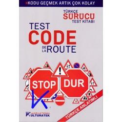 Test Code de la Route, Türkçe - Fransızca Sürücü Test Kitabı, Türkçe Anlatımlı - Ehliyet test kitabı