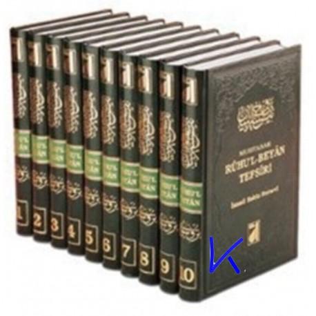Ruhu'l Beyan Tefsiri - 10 cilt - Ismail Hakkı Bursevi