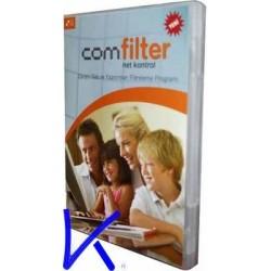 Comfilter net kontrol, güvenli internet - çocuklarınızı zararlı site ve yazılımlardan koruma filtreleme programı - CDROM