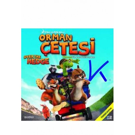 Orman Çetesi (Over the Hedge) - VCD