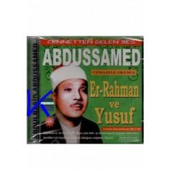 Er-Rahman ve Yusuf Sureleri - CD - Abdussamed