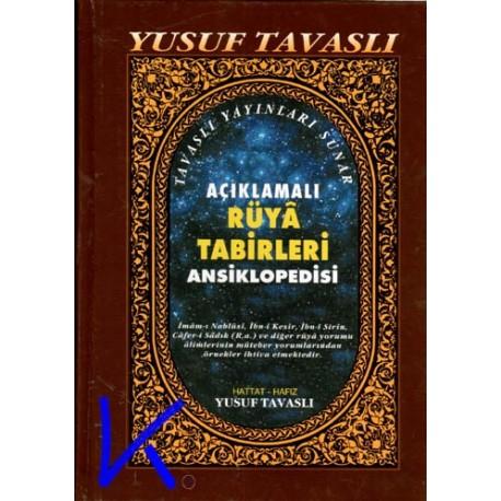 Rüya Tabirleri Ansiklopedisi, açıklamalı - (büyük boy) Yusuf Tavaslı