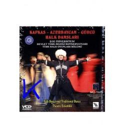 """Türk Halk Oyunları: """"Kafkas-Azerbaycan-Gürcü Halk Dansları"""" - Folk Dance and Traditional Dance - VCD"""