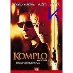 Komplo - The Score - Robert de Niro - VCD