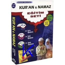 Kur'an ve Namaz Eğitim Seti - 10 VCD + Elifba hediye - animasyon destekli - Hedef