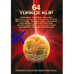 64 Türkçe Klip - Ilk kez 64 videoklip DVD'de - 2 DVD Set