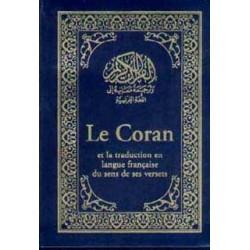 Le Coran et traduction en français, petit format - fransızca mealli Kuran