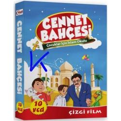 Cennet Bahçesi, Çocuklar Için Islam Okulu - 10 VCD çizgi film seti
