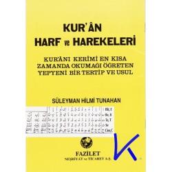 Kur'an Harf ve Harekeleri, Elifbe - Süleyman Hilmi Tunahan